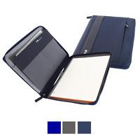 Nava Easy Porta blocco documenti A4 chiusura con cerniera zip, porta ipad, EP875