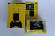 Original Sony Playstation 2 Dualshock Controller + Memory Card 8 MB Neu