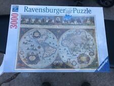 NEW Ravensburger 3000 Jigsaw Puzzle World Map 1665 - BAG SEALED