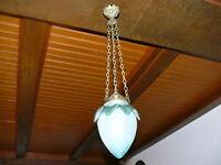 Prunkvolle  Jugendstil Lampe  Deckenlampe Jugendstillampe ca. 1910