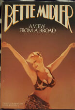 *SIGNED* BETTE MIDLER - A VIEW FROM A BROAD BOOK - HC/GOOD COND.