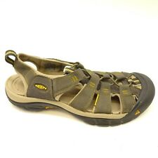 KEEN Newport H2 US 10.5 EU 44 Gray Hiking Walking Sandals Water Mens Shoes