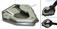 Kickstand Side Stand Enlarger Pad Titanium Fit 16-17 HONDA CRF1000L Africa Twin