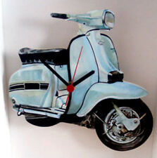Scooter Wall Clock, Mod Skinhead Scooter Wall Clock, GP Scooter Wall Clock