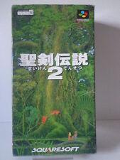 SNES Spiel - Secret of Mana / SeiKen Densetsu 2 (Jap Import) (OVP) 10634875