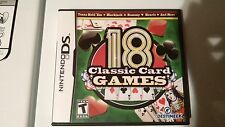 18 classic card games nintendo ds