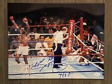 "SUGAR RAY LEONARD signed / autographed 11""x14"" photo  ~ ""HOF"" ~ JSA/COA"