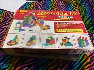 Magna-Tiles  CSolid Classic Colors DX Magnetic Toy Building Car 48 piece Set