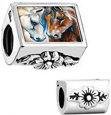 Equestrian Horse Animal Charm Pandora Beads Bracelet