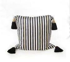 """Sale $200 off Mackenzie Childs Florentine Pillow w/Silk Tassels """"No Insert"""""""