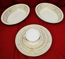 Royal Doulton Sovereign Fine Bone China 64pc Set Dinner Set For 12 Serving Piece