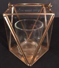 Yankee Candle Brass & Glass Votive Holder NWT