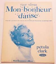Partition sheet music PETULA CLARK : Mon Bonheur Danse (Foot Tapper) * 50's