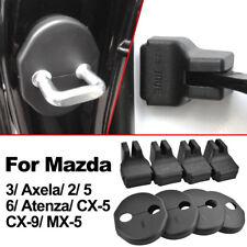For Mazda 3 Axela 2 5 6 CX-5 CX-9 MX-5 Door Stopper Lock Striker Catch Cover