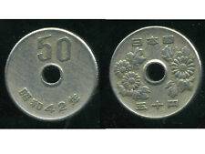 JAPON  50 yen  42    1967