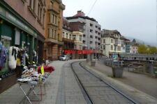 PHOTO  2012 GERMANY TRAM BAD WILDEBAD STREET AND PLATFORM