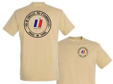 """SNAKE PATCH - T-shirt TAN """" armée de terre - PAS DE COUILLES... """" du S au XXL"""
