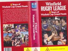 Full Screen Sports Rugby VHS Movies