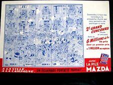 Ancien BUVARD La Pile Mazda Un Eclairage Parfait