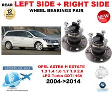 FOR OPEL ASTRA H REAR WHEEL BEARINGS 2004->2014 L35 ESTATE LPG CDTi 16V Turbo