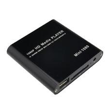 AGPTEK 1080P Mini Full HD Digital Media Player-MKV/RM-SD/USB HDD-HDMI CVBS JJ