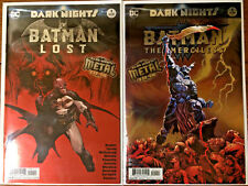 Batman LOST #1 & The MERCILESS #1 Foil Stamped  1st Print  Metal tie-in  - NM