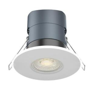 Kosnic Mauna Plus Fixed Dimmable Fire Rated Downlight with Switchable Colour Tem