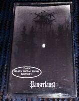 Darkthrone – Panzerfaust. Very Rare Good Cassette Tape Ukraine Bootleg Bargain