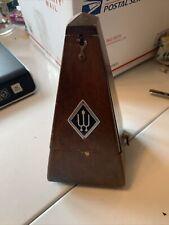 Vintage Wittner Metronome Wood Made in Western Germany Works