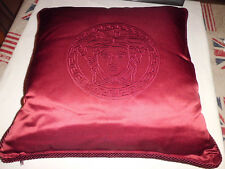 Versace  Home  Pillow Red Medusa  cm  50 x 50