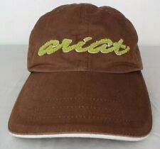 ARIAT Strapback Adjustable Baseball Hat Cap Cotton Brown Green