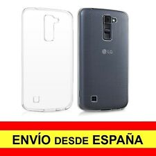 Funda Silicona para LG K10 Carcasa Transparente TPU ¡ESPAÑA! a2199