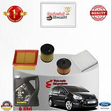 KIT TAGLIANDO FILTRI + OLIO FORD S-MAX 2.0 TDCi 120KW 163CV DAL 2010 ->