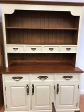 solid wood dresser, painted dresser, kitchen dresser ex display