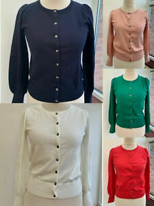Boden Alice Cardigan Full Length Ruched Sleeves -5 Beautiful Colours -*PERFECTS*
