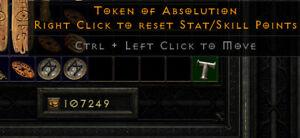 Diablo 2 Resurrected (D2R) Battle.net (PC) Token of Absolution (Token)