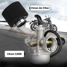 Carburettor Carb Foam Air Filter Choke For 50cc 90cc 110cc PZ19 Pit Bike Engine