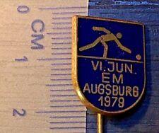 pin bowling Augsburg 1979.year badge enamel (844.)