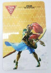 Zelda Wind Waker Amiibo Legend of Zelda 30th Card Nintendo Switch (Option A)