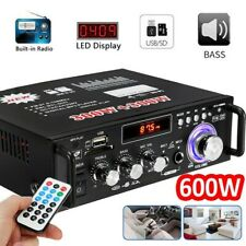 600W Stereo Verstärker Digital Power FM HiFi Musik Auto Audio Amplifier USB