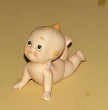 LEFTON Bisque Blue Winged Baby/Pouty KW913/Vintage?/Take a Look
