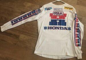 1983 O'neal Factory Honda Motocross Racing Jersey. Rare