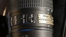 Nikon Nikkor 70-200 mm f/2.8 II G SWM AF-S VR N M/A ED objective du revendeur