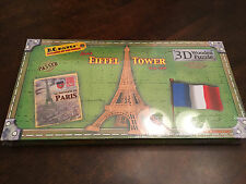 K) NIB B.C. Bones Eiffel Tower Paris France Wooden Wood 3D Creative Puzzle