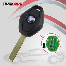 Fit BMW E46 E38 E83 315Mhz 3 Buttons Uncut Transponder Remote Key Chip Inside