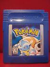 Pokemon Blue Version Nintendo Game Boy Cartridge only will save