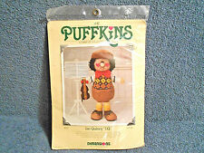 "1983 Dimensions The Puffkins Ian Quincy Iq 12"" Doll Embroidery Kit 4505 - New"