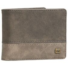 BILLABONG MENS WALLET.NEW DIMENSION FAUX LEATHER MONEY CARD COIN PURSE 9W 3/757