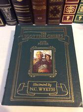 Scottish Chiefs by Jane Porter - Easton Press leather-bound - N.C. Wyeth illus.