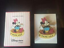 Disney RARE Japan  Boxed Food Series Minnie Pancake Boxed Pin